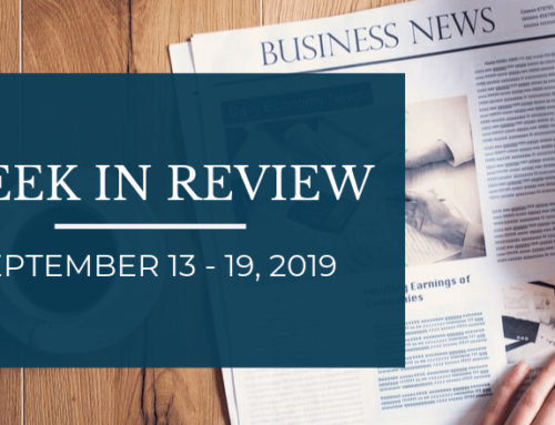 Week In Review – September 13-19, 2019